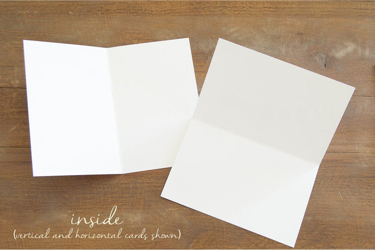 "Blank Greeting Card - ""Granite"""