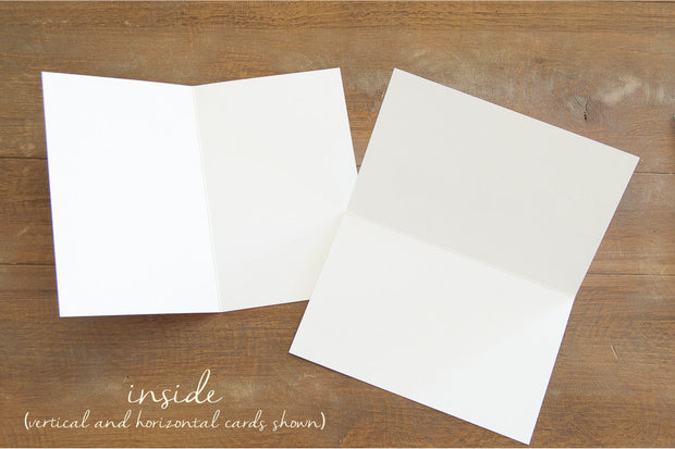 "Blank Greeting Card - ""Hidden"""