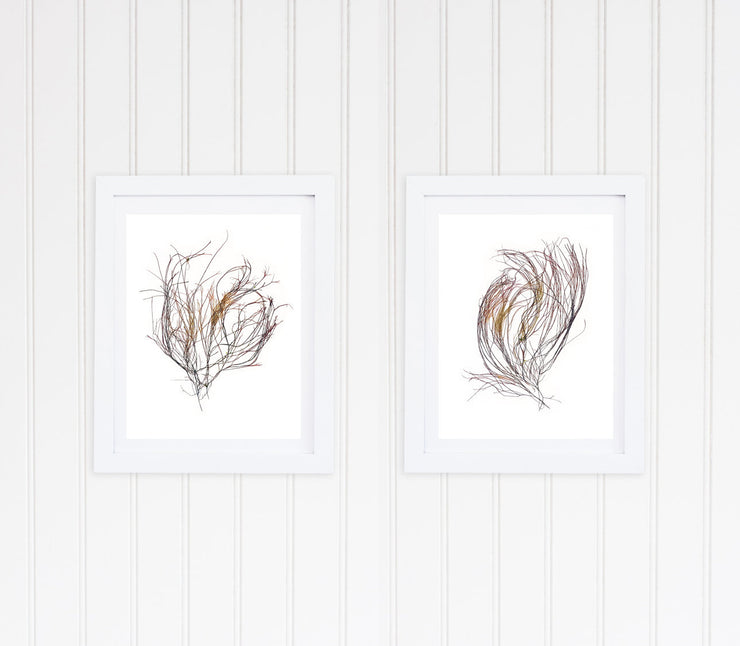 """Curves"" - Set of Two 11x14 Art Prints"