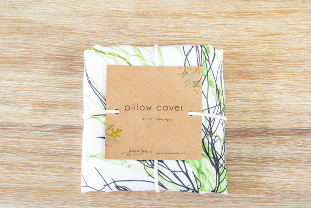 "Square Pillow Cover - ""Layer"""