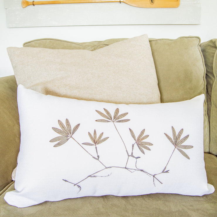 "Lumbar Pillow Cover - ""Hidden"""