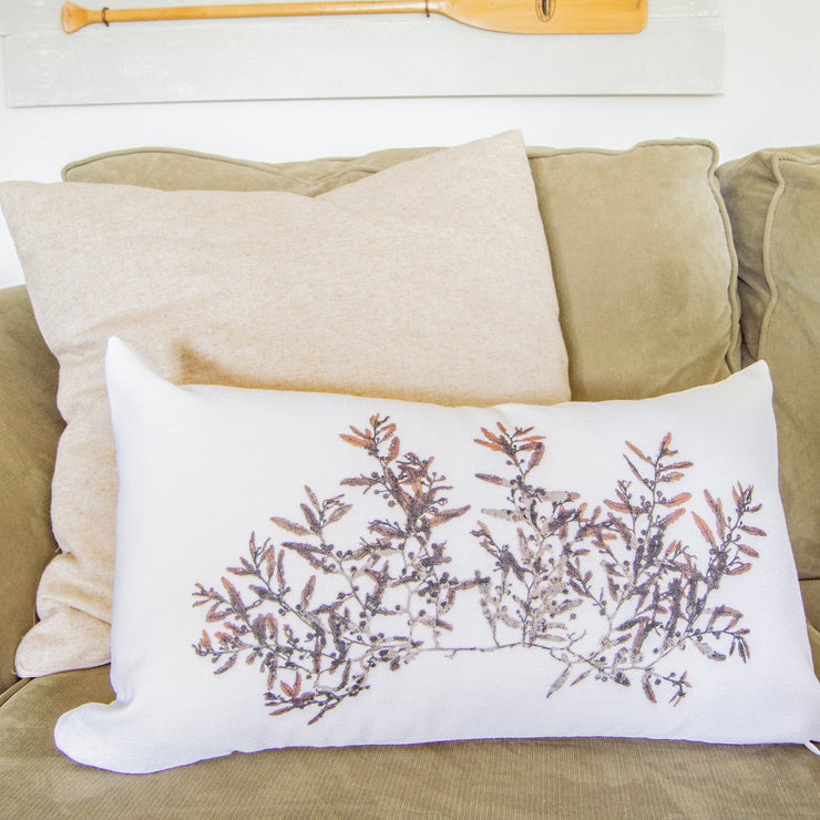 "Lumbar Pillow Cover - ""Swell"""