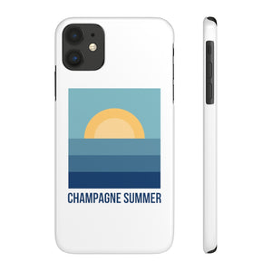 Summer  - Case Mate Slim Phone Case - Bubbles Make Me Happy