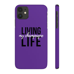 Living - Case Mate Slim Phone Case - Bubbles Make Me Happy