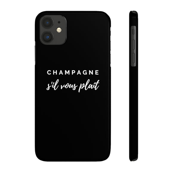 S'il Vous Plaît - Case Mate Slim Phone Case - Bubbles Make Me Happy