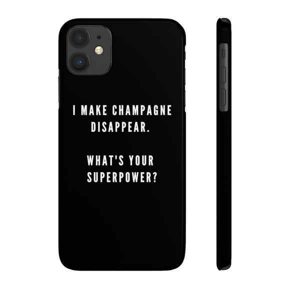 Superpower - Case Mate Slim Phone Case - Bubbles Make Me Happy