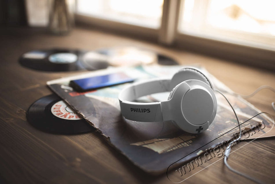 Auriculares Philips Bass+ Sin microfono