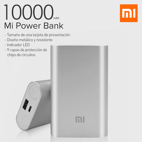 Mi Power Bank 10.000mAh