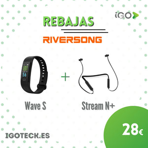 Riversong Wave S Smartband + Stream N+