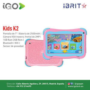 Kids K2 Tablet iBRIT