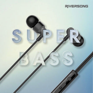 Super Bass Auriculares Riversong