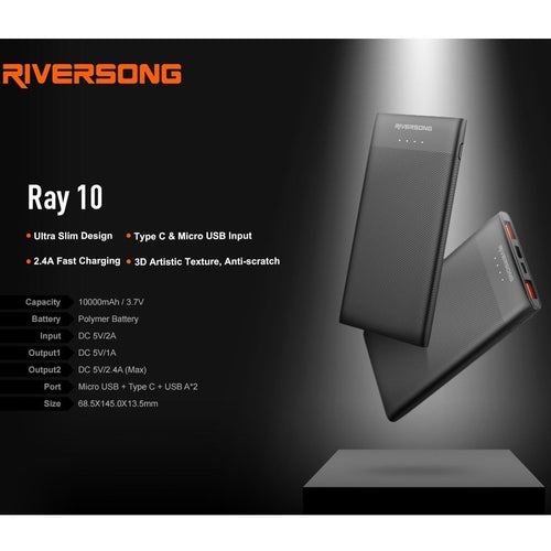 Riversong Ray 10 Power Bank