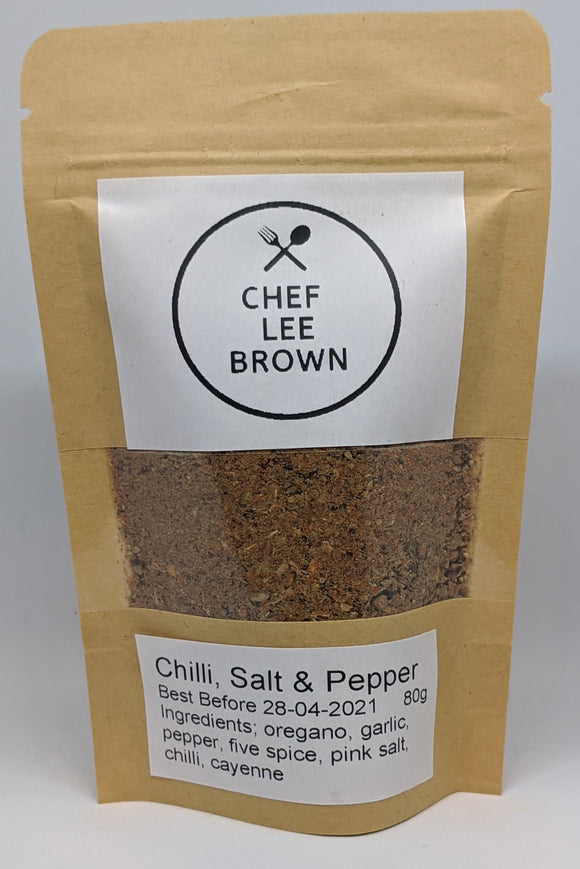 Chili, Salt & Pepper