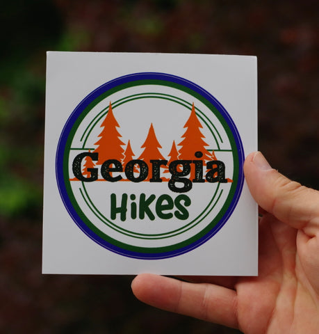 Georgia Hikes Sticker