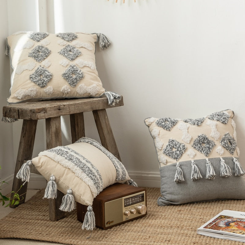 Tassel Cushion Covers