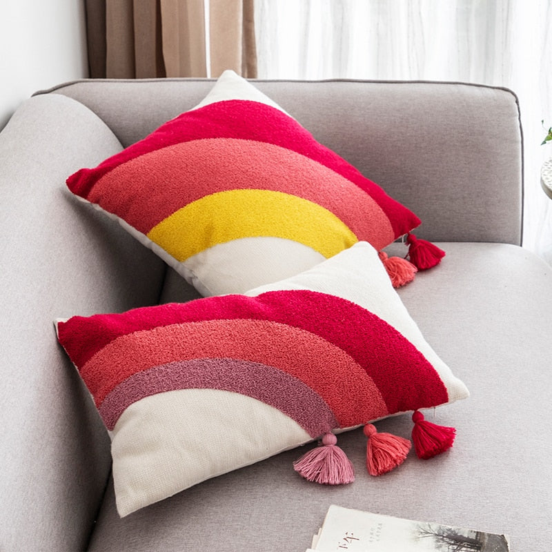 Rainbow Cushion Covers