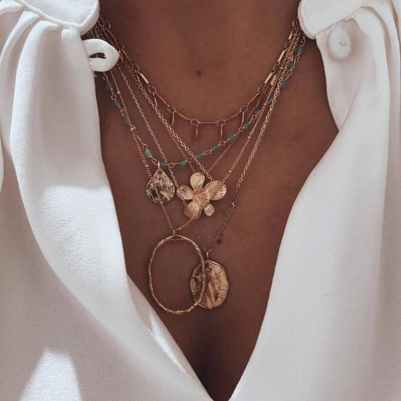 Tocona Flower Necklace