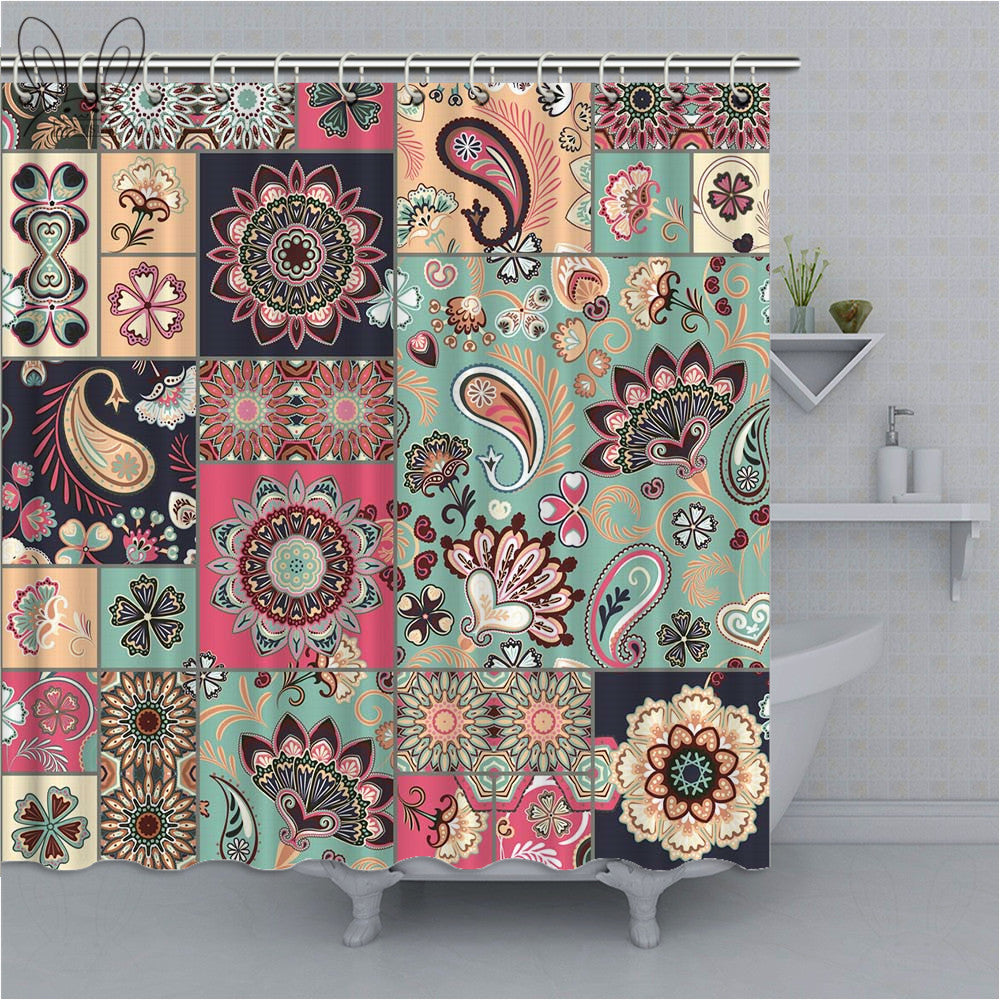 Moroccan Shower Curtains