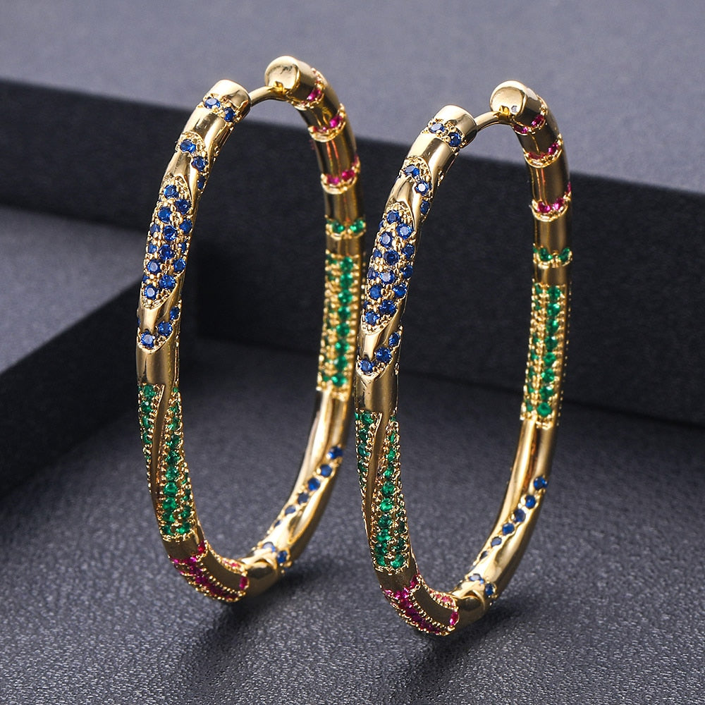 Tepaneca Hoop Earrings