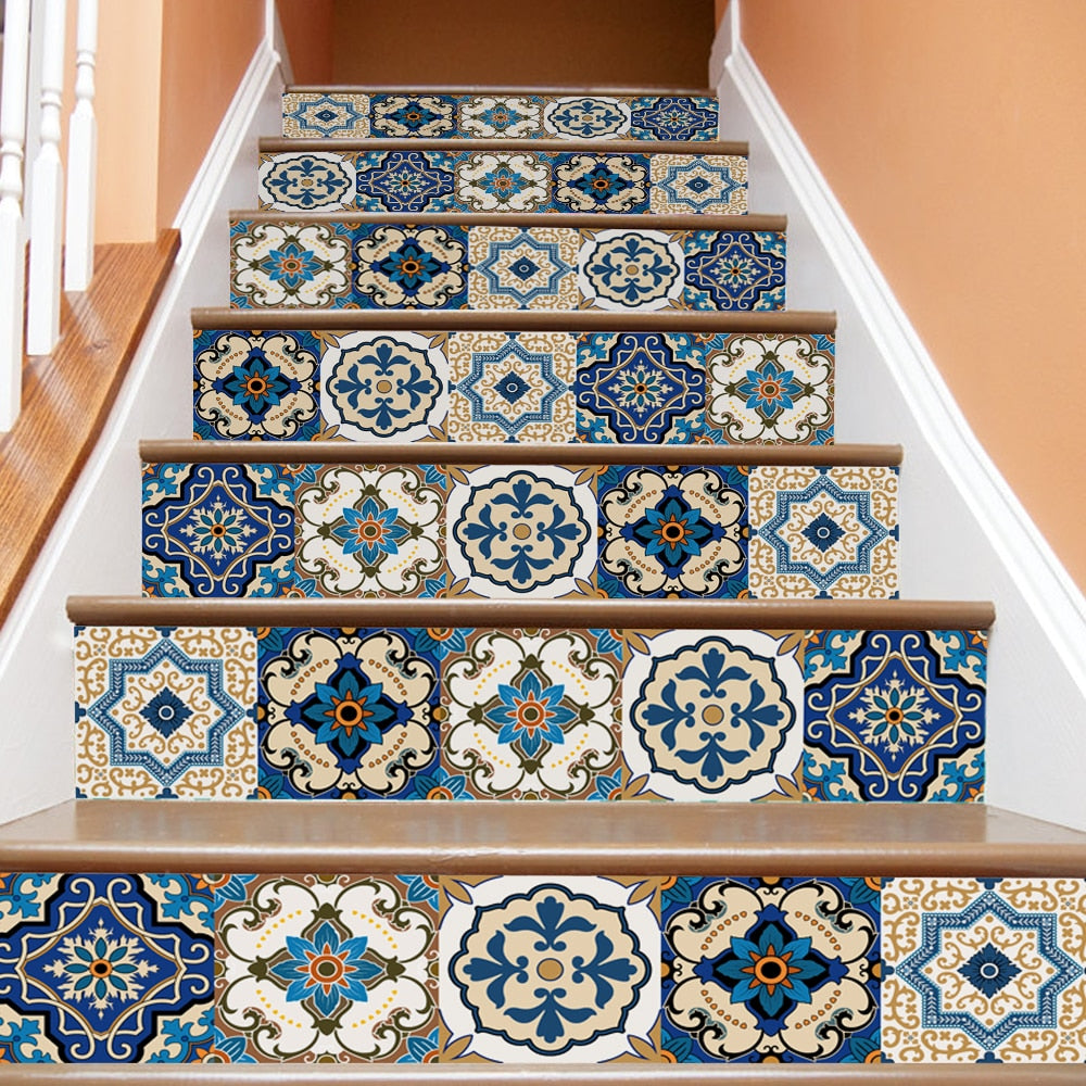 Santorini Stair Stickers