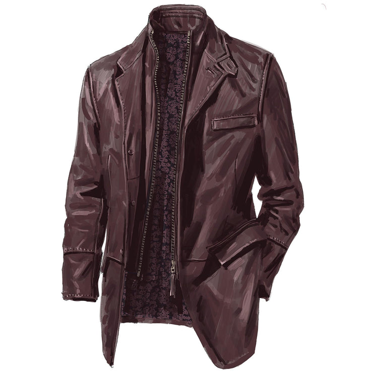 Italian German's Leather Jacket