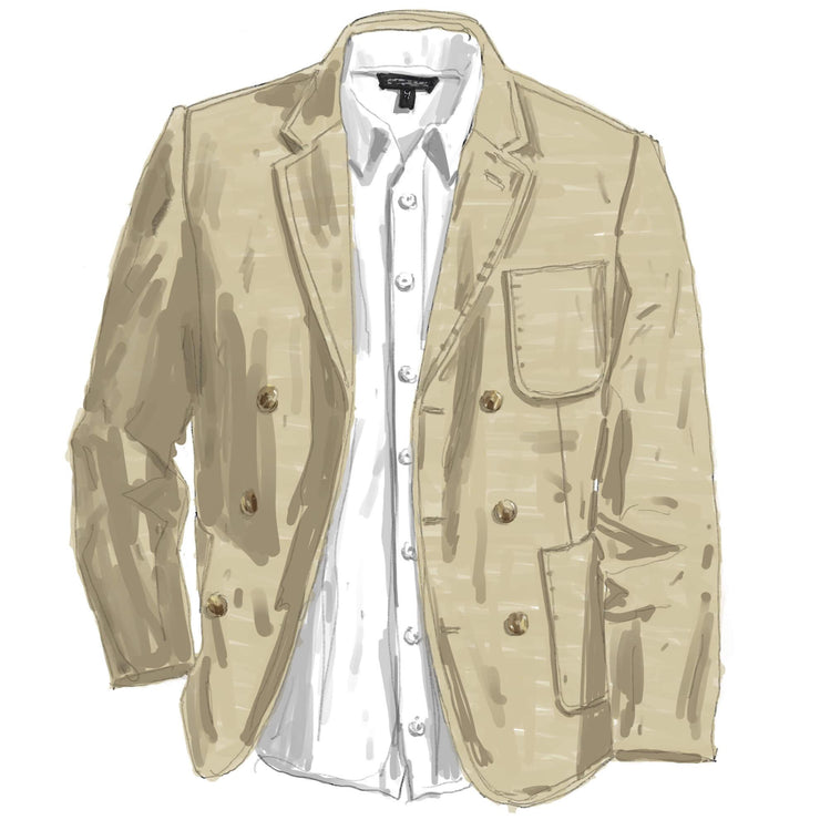 Perfectly Self-Aware Linen Jacket