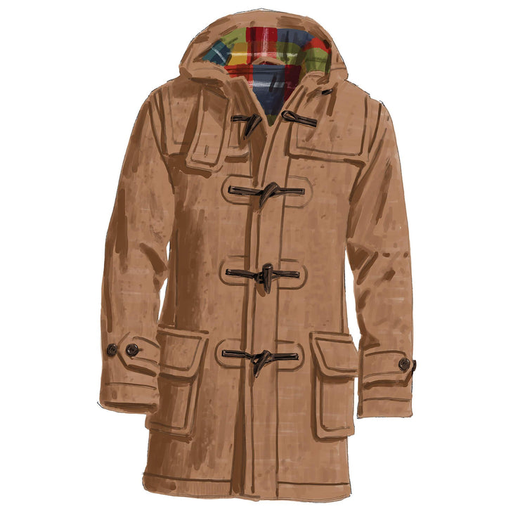 Men's Three-Season Duffel Coat