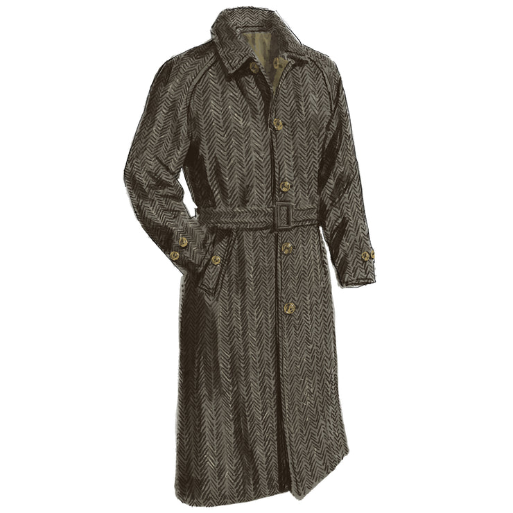 Reversible Trenchcoat