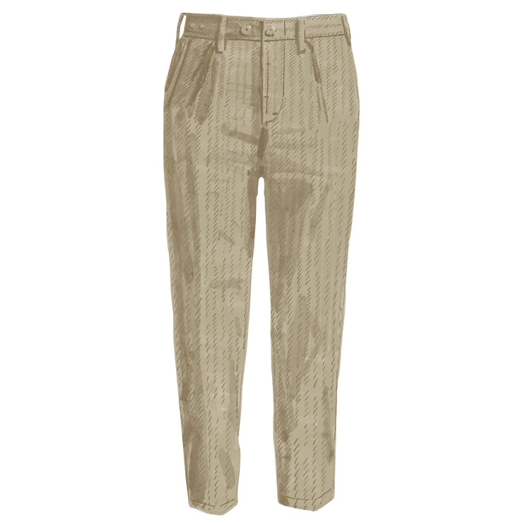 Herringbone Utility Pants