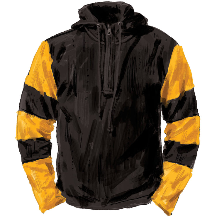 Hooded Football Shirt