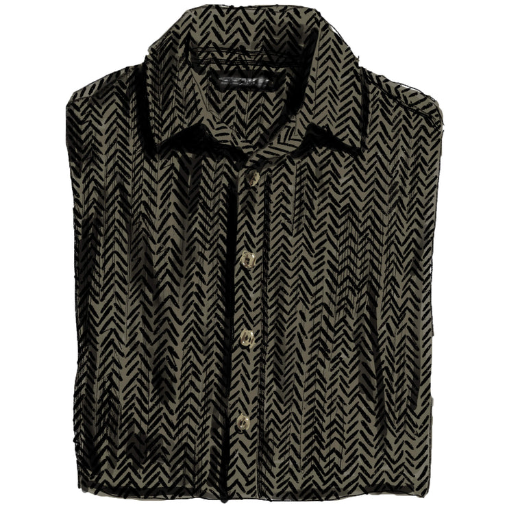 Sensible Herringbone Shirt