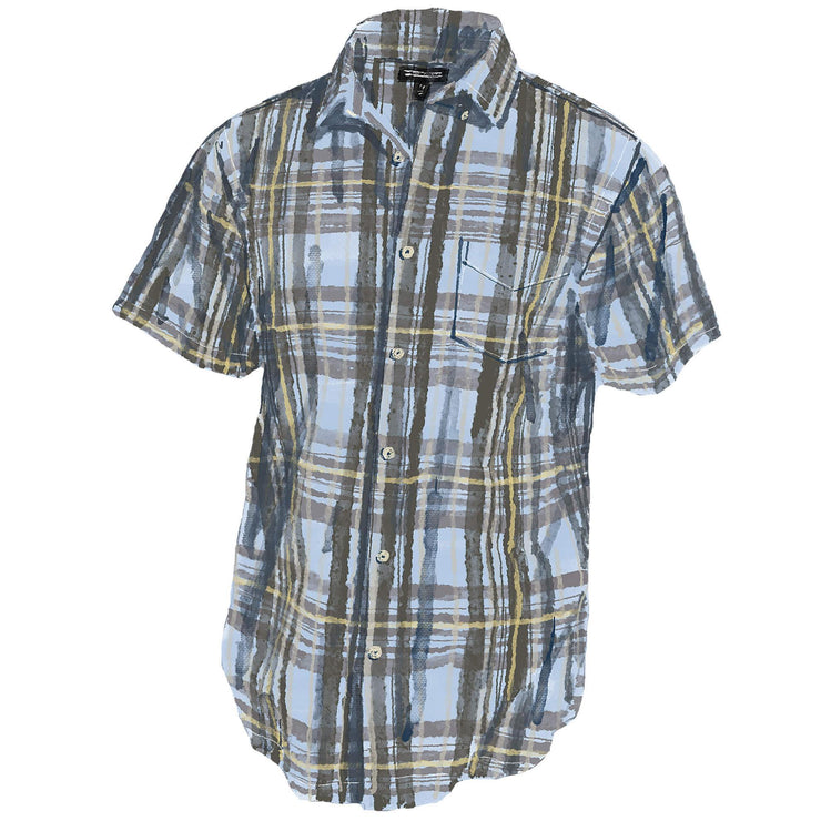 Short Sleeve Madras Shirt