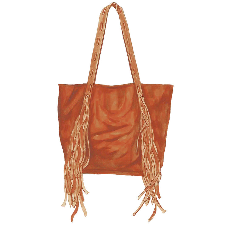 Paradise Valley Leather Tote