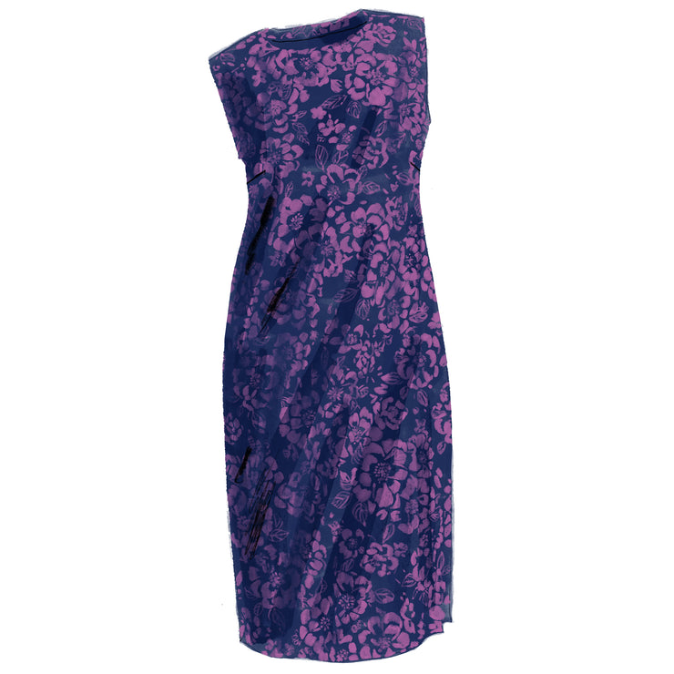 Brocade Sheath Dress