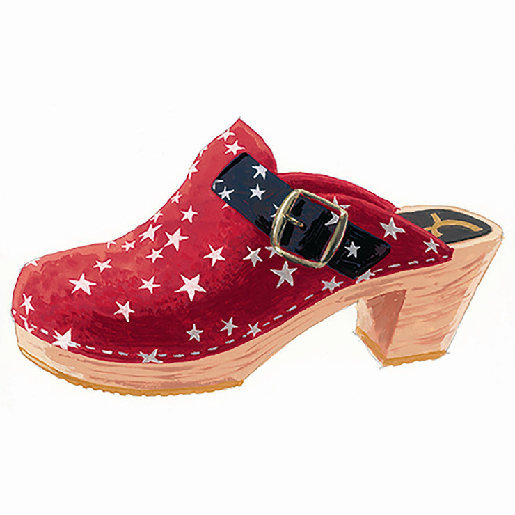 Lc Personality Clogs Red