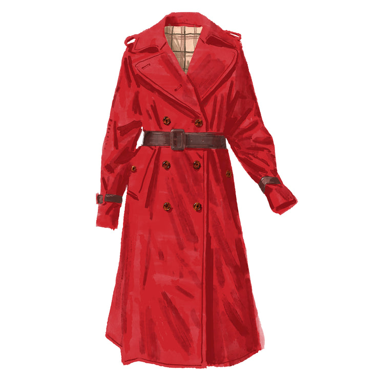 Classic Movie Trench Coat