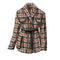 Houndstooth Shawl Collar Jacket