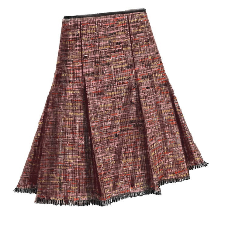 1950s Tweed Skirt