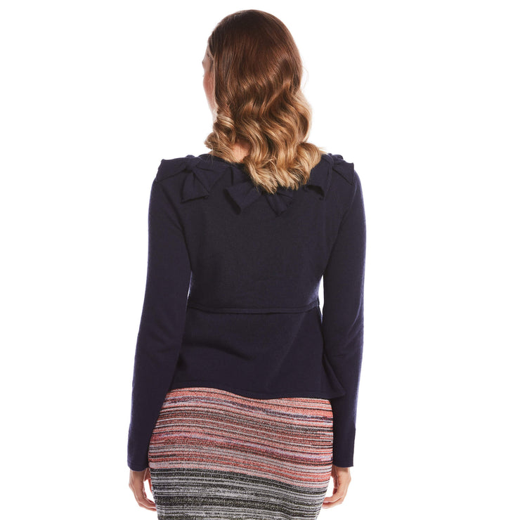 Star Lady Bow Cardigan