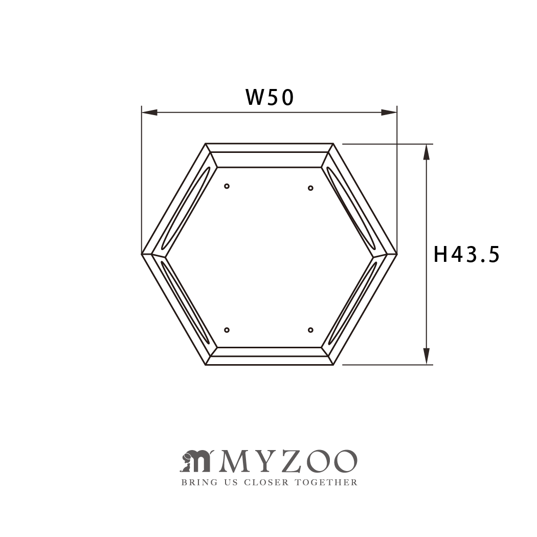 MYZOO-六角ハウスBセット