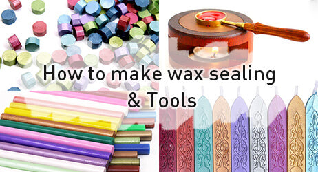 How to make wax sealing & Tools