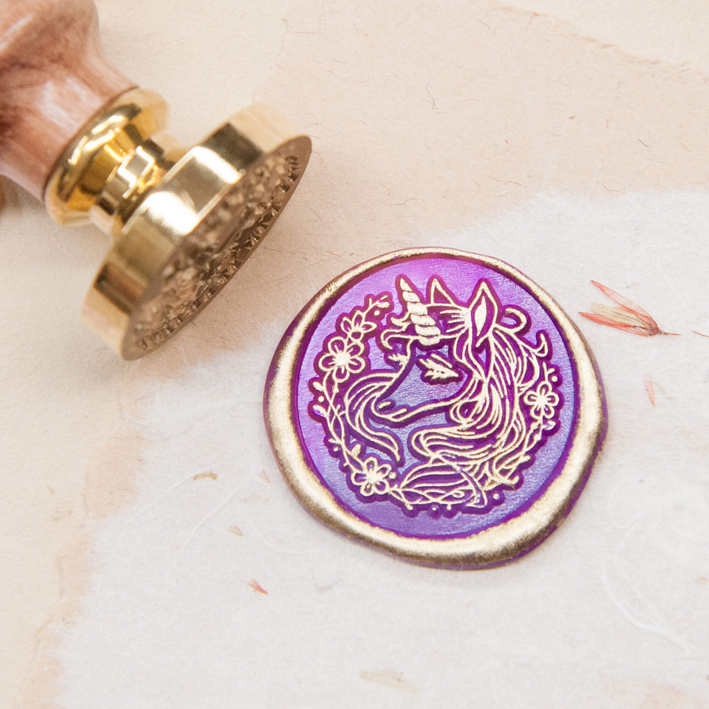 Unicorn /original vintage wax seal stamp