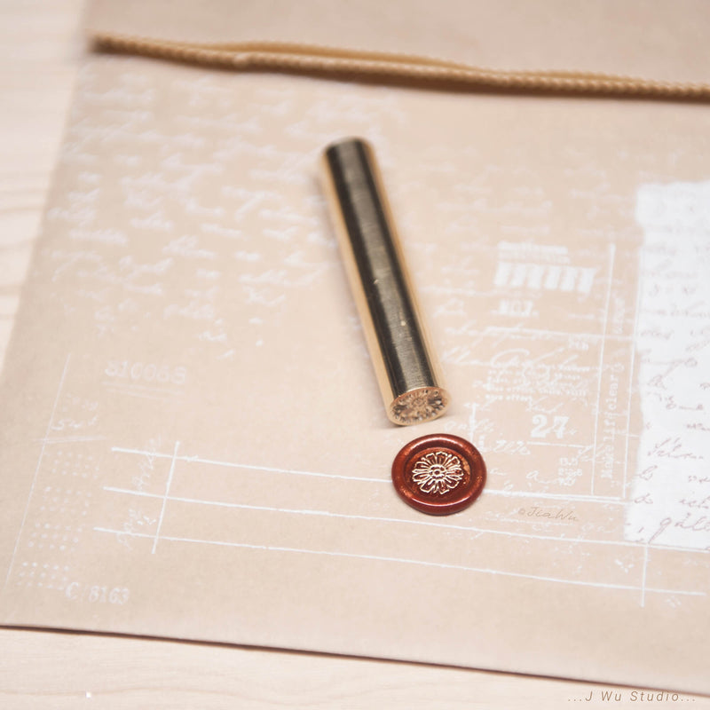 Just Daisy /original vintage wax seal stamp