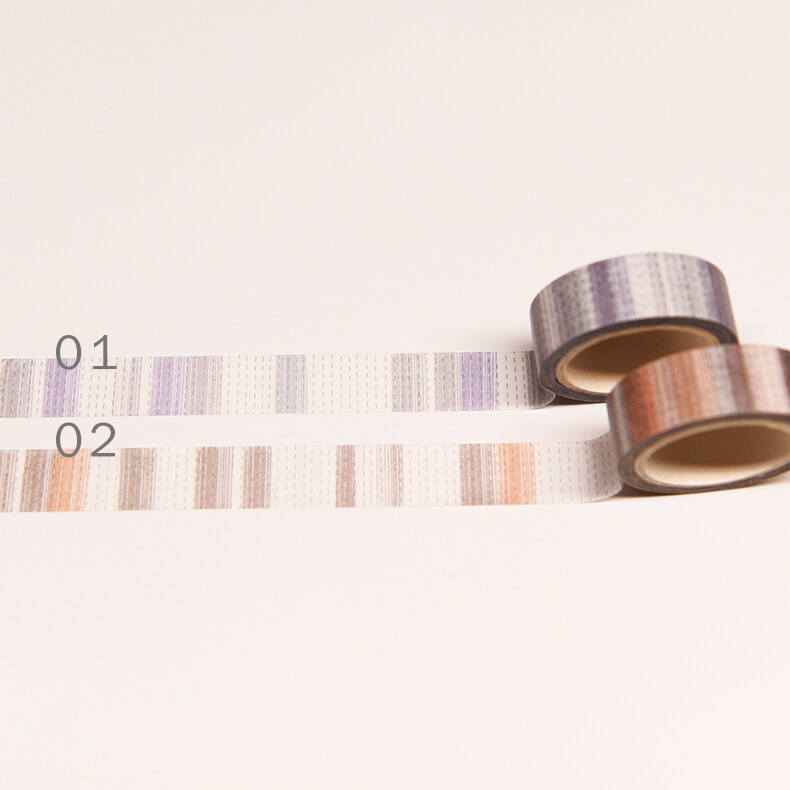 Original Simple line washi tape/ Exclusive Design