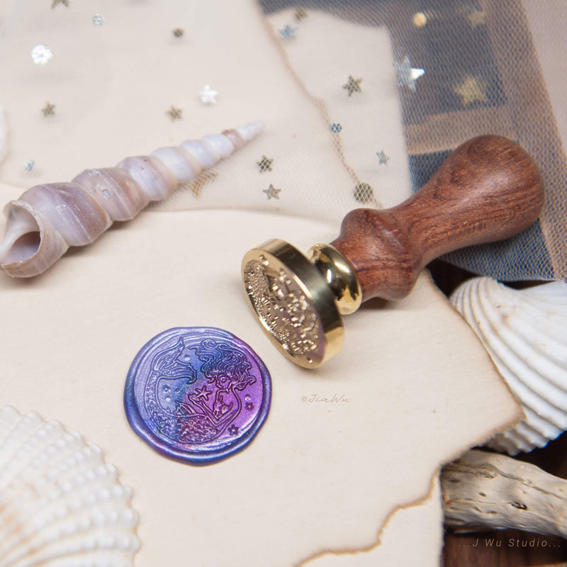 The Mermaid original vintage wax seal stamp