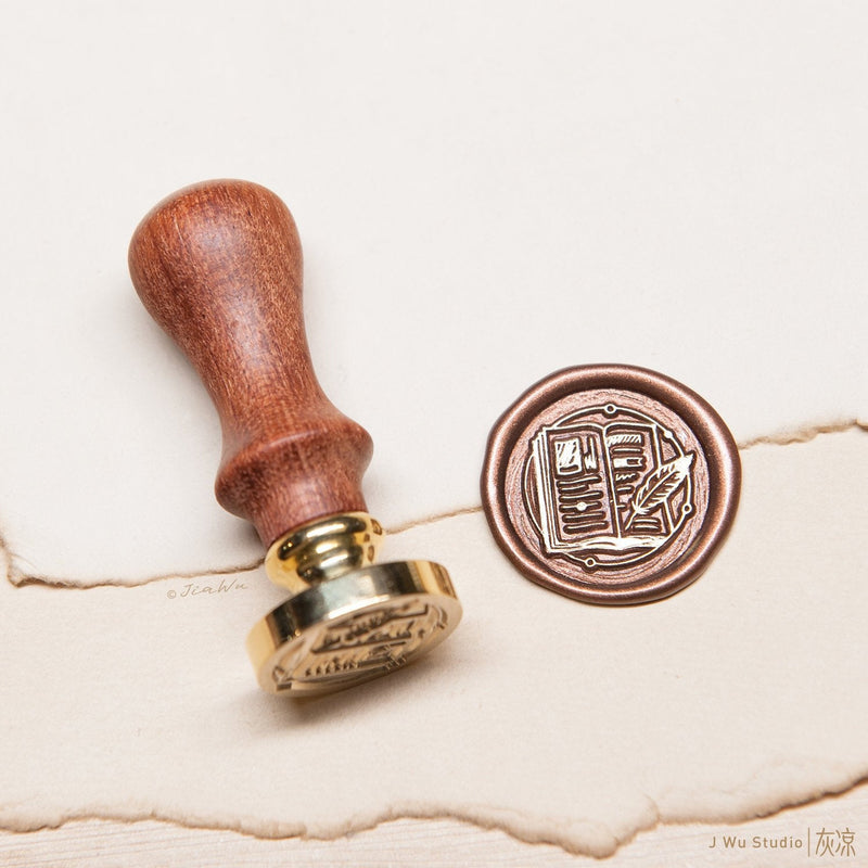 The Notebook original vintage wax seal stamp