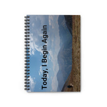 Load image into Gallery viewer, Today, I Begin Again Notebook