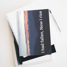 Load image into Gallery viewer, I Had Fallen Now I Rise Journal - blank pages