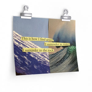 This is How I find Grace Art Print Poster