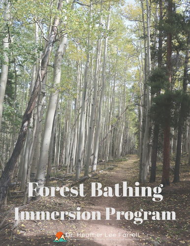 Forest Bathing Immersion Program